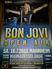 Bon Jovi Open Air 2011 Rare Mannheim Konzert Plakat Concert Callejon Poster 84cm
