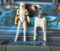 STAR WARS FIGURE 2008 ANIMATED CLONE WARS 212TH CLONE TROOPER WITH JET PACK