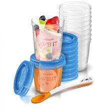 Philips Avent SCF721/20 Baby Nahrung Becher 20er Pack 10x180 ml + 10x 240 ml