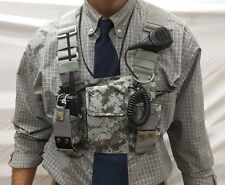 Chest Pack for Two Way Radios and other equipment WC-Chest-Camo