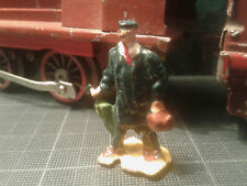 Ancien personnage figurine plomb Ech. O HORNBY DINKY MDM - homme parapluie- neuf