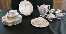 VINTAGE ROSENTHAL ESPRESSO SET FINE CHINA GERMANY LOT OF 25 Pieces