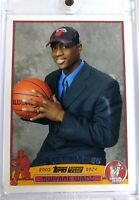 2003 Topps NBA Draft NY 03 Dwayne Wade Rookie RC #225, Miami Heat