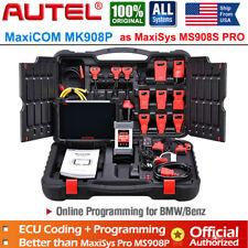 Autel MK908P MaxiSys PRO OBD2 Diagnostic Scanner ECU Coding Key Programming TPMS