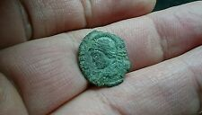 Rare bronze Roman coin Constantinople Commemorative L53