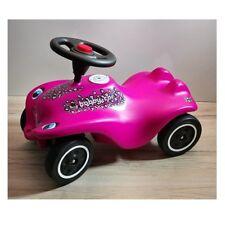 BIG New Bobby Car CAT GIRL pink schwarz Rutscher Fahrzeug Flüsterräder be112