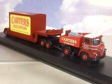 CORGI/ATLAS 1/76 FODEN GENERATOR TRUCK & LOW LOADER TRAILER CARTER'S STEAM FAIR