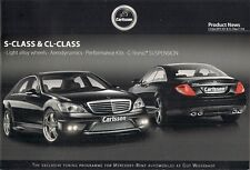 Mercedes-Benz S-Class & CL Carlsson Tuning Accessories 2009 Brochure In English