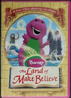 Barney - The Land Of Make Believe (DVD, 2005) Rare HTF Tested 100% Guaranteed