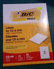 Labels / Étiquettes à imprimer pour CD/DVD