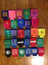 Pick Any 3 Phish Koozies Huggies Coolies Coozies Tour Show Poster Shirt Pin