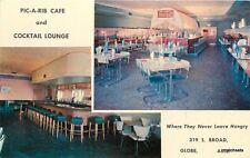 Globe Arizona Pic Rib Cafe Interior furniture Kim Color postcard 8229