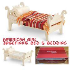 American Girl Doll Josefina's Beforever Bed And Bedding NEW!! White
