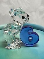 New in box Swarovski Crystal Figurine Kris Bear Number Six 6 #5108728