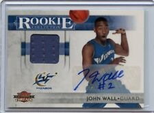 2010-11 PANINI THREADS #1 JOHN WALL AUTOGRAPH JERSEY ROOKIE RC SP #6/50, WIZARDS
