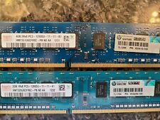 6GB total (4GB+2GB) HYNIX 2Rx8 PC3-12800U-11-11-B1 DDR3 Desktop RAM