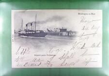 CPA France 1901 Boulogne-sur-Mer Schiffe Ship Boat Sail Nave Marine Port s162