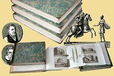 Leonardo Cacciatore Nuovo Atlante Istorico illustrato Geografia Cultura Stampe