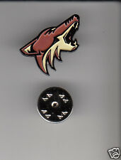 Lot 50 x ARIZONA COYOTES Phoenix NHL Hockey Logo METAL HAT LAPEL PINS New Sealed