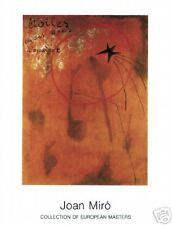 Joan Miró - Etoiles D'Escargot 1925 - MIRO Poster Print