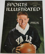 Johnny Lee 1957 Sports Illustrated No Label Yale 1/21/57 Ex 15482