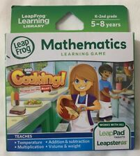 LeapFrog Cooking Recipes On The Road Learning Game (Works With LeapPad Tablets)