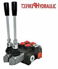 Handsteuerventil Handhebelventil Hydraulik 40L 2fach für Doppelwirkende zylinder