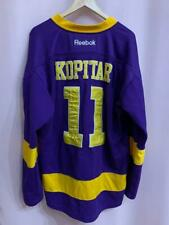 NHL LOS ANGELES KINGS USA ICE HOCKEY JERSEY REEBOK PLAYER ISSUE ANZE KOPITAR #11