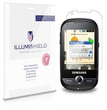 iLLumiShield Anti-Bubble/Print Screen Protector 3x for Samsung Corby Pro B5310