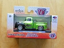 M2 2017 LIMITED EDITION 1956 FORD F-100 GROUND POUNDERS DIECAST