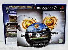 PLAYSTION 2 EURO 2004 PORTUGAL UEFA FOOTBALL GIOCO PS1 PS2 PS3 PAL in buonissima condizione