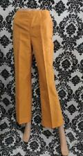MB Emporio Armani Women's Size 42 Orange Straight Leg Pants Slacks Trousers EUC