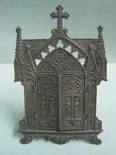 Antigo religious oratory Reliquary relics Our Lady of Fatima