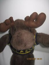 Cute NEW with Tags Moose Stuffed Animal By Artic Circle
