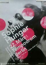 Sophie Hunger Berlin Tour Plakat/ Poster 2019 ca. 84 x 59,5 cm