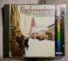 Rachmaninov Symphonie no. 2 in E minor op. 27 London Symphonie Orchestra CD