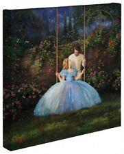 Thomas Kinkade Studios Disney Dreams Come True 14 x 14 Gallery Wrapped Canvas