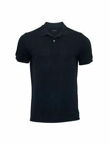 Men's Classic Fit Short Sleeve Quick-Dry Mesh Pique Polo Shirt