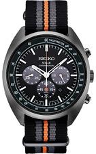 Seiko Ssc671 Men's Recraft Series Solar Nylon Strap Chronograph Watch SSC669