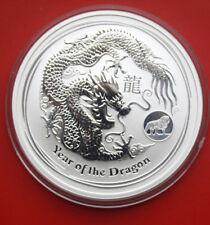 """Australia: 2012 Year of the Dragon Lunar II, 1 oz, Privy Mark """"Löwe"""",  #F 1891"""