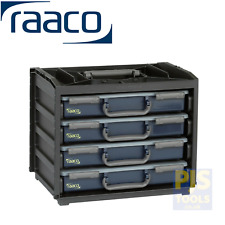 Raaco 136242 handybox 55 x 4 tray engineers portable parts storage service unit