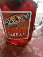Blackburn's Red Plum Jelly 18oz In A Handle Reusable Glass Mug