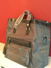 GIORGIO ARMANI PARFUMS GREY MENS TRAVEL /WEEKEND BAG NEW!!!