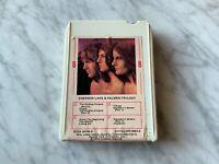 Emerson Lake & Palmer Trilogy 8-Track Tape 1972 Cotillion 9903-8 RARE! OOP!