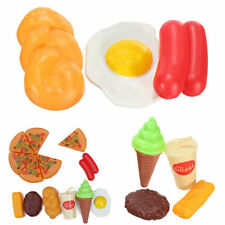 13X For Childrens Pizza Slices Cola Ice Cream Pretend Kitchen Play Food Toy JDUK