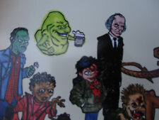Mad Monster Magazine First Issue Artist Signed Cover Art Vintage Sci Fi Horror
