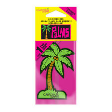 California Scents PALM TREE Hanging Car Home Air Fresheners Freshner - CHERRY