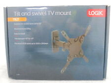 "LOGIK LCS16 Tilt & Swivel TV Bracket - Black - For 13 - 32"" Televisions - Currys"