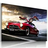 MERCEDES GULWING CANVAS PICTURE PRINT HD FRAMED 20X30INCH