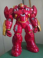 "Iron Man French Talking 13"" Action Figure 2015 Marvel Hasbro Hulkbuster Toy"